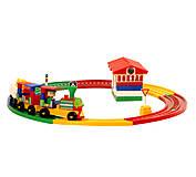 Детский конструктор «Вокзал», 1233, toys