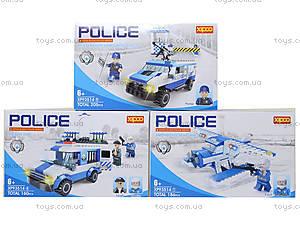 Конструктор для детей серии «Полиция», XP93514, купить