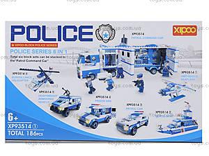 Конструктор для детей серии «Полиция», XP93514, фото