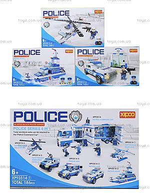 Конструктор для детей серии «Полиция», XP93514