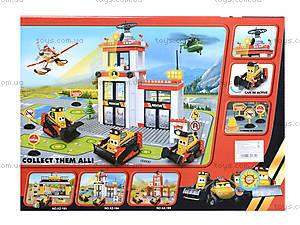 Конструктор Planes: Fire and Rescue, с транспортом, XZ184, отзывы