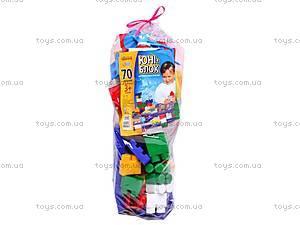 Конструктор Юни-блок, 70 элементов, Юника, toys