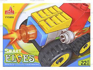 Конструктор «Транспорт», 19-20 деталей, YY0856-0859, цена