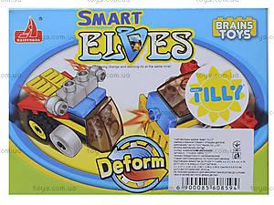 Конструктор «Транспорт», 19-20 деталей, YY0856-0859, игрушки