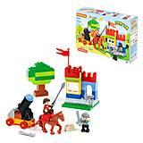 Конструктор «Замок» 58 элементов, 77653, детские игрушки