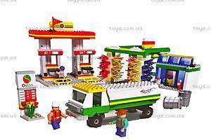 Конструктор «Заправочная станция», 500 деталей, 14561