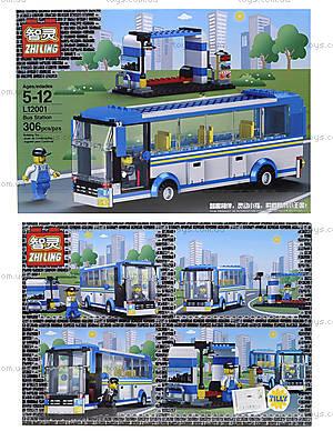 Детский конструктор «Автобус», L12001