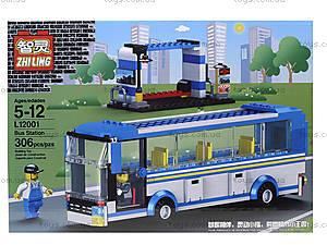 Детский конструктор «Автобус», L12001, фото