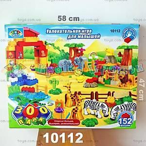 Конструктор «Зоопарк», 152 элемента, 10112
