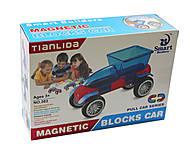 Конструкторская машинка - игрушка, E663-H26003, детский
