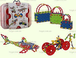 ZOOB конструктор подвижный детский, 500 деталей, 11500