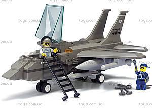 Конструктор для детей «Военный самолет», 142 детали, М38-В7200, купить