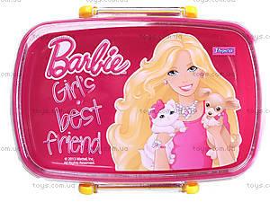 Пластиковый контейнер для еды Barbie, 704946, отзывы