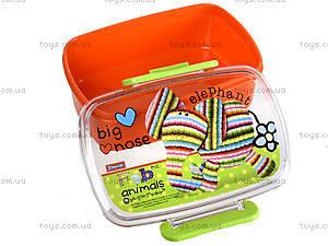 Пластиковый контейнер для еды Fabric Animals, 704948, фото
