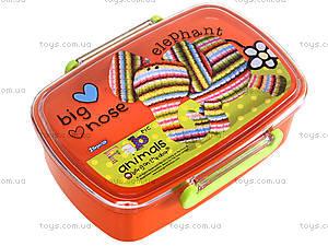Пластиковый контейнер для еды Fabric Animals, 704948