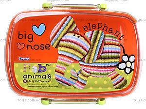 Пластиковый контейнер для еды Fabric Animals, 704948, отзывы