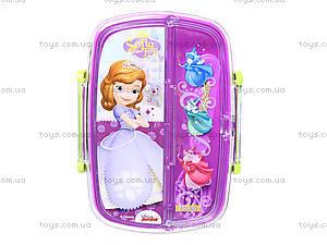 Пластиковый контейнер для еды «Принцесса», 704136, купить