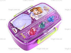 Пластиковый контейнер для еды «Принцесса», 704136