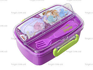 Пластиковый контейнер для еды «Принцесса», 704136, фото