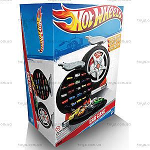 Контейнер для машинок Hot Wheels «Колесо», HWCC1