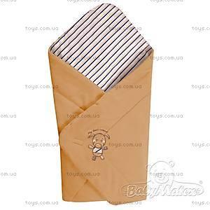 Конверт для новорожденного Best Friend, коричневый, 0190-16 Tan