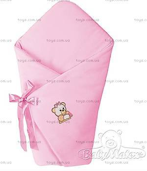 Конверт для новорожденного «Мишки», розовый, 0009-10