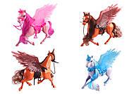 Лошадка-единорог с крыльями в ассортименте, 686-779, детские игрушки