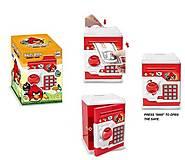 Копилка-сейф с кодовым замком, звуковые эффекты, WF-3001ABWF-3001HK, toys.com.ua