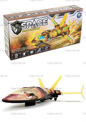 Музыкальная игрушка «Космический корабль», 81-8A