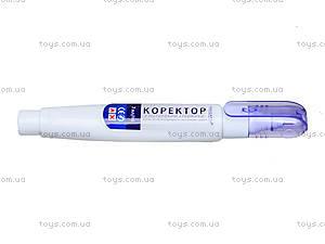 Корректор-ручка с металлическим кончиком, 7 мл, 71702-NV, фото
