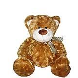 Коричневый плюшевый медведь, 3302GM
