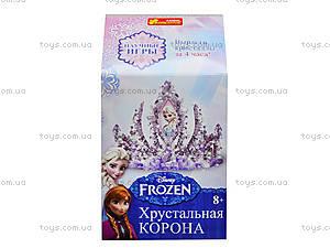 Корона в кристаллах «Фрозен», 8091