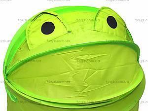 Корзина для детских игрушек «Лягушка», E21-135, фото