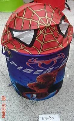 Корзина для игрушек «Человек-паук», E21-130