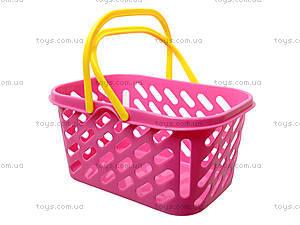 Игрушечная корзина для покупок, 04-434, детские игрушки