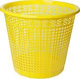 Корзина для бумаг 8 л (желтая), ZB.3040-08, купить