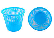Корзина для бумаги 8 литров, ZiBi, синяя, ZB.3040-02, фото