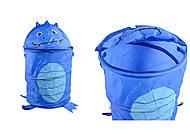 Корзина для игрушек, синяя 38*62 см , C36575, детский