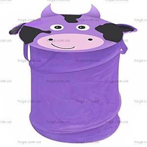 Корзина для игрушек «Корова»,