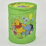 """Корзина для игрушек салатовая """"Винни Пух"""", A01065, игрушки"""