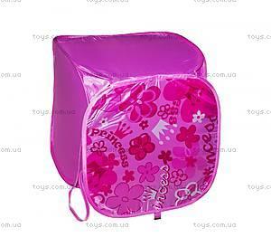 Корзина квадратная розовая «Принцесса», BT-TB-0003