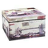 "Корзина-сундук для игрушек ""Мост"", CLR602, интернет магазин22 игрушки Украина"