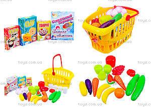 Детский набор в корзинке «Супермаркет», 362 в.2
