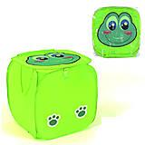 Корзинка для игрушек «Жабка» зеленая, C36581