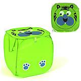 Корзинка для игрушек «Тигр» зеленая, C36583, тойс