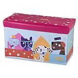 """Корзинка-пуфик """"Веселые зверушки"""" , C44348/47/45, детские игрушки"""