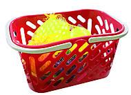 Корзинка с фруктами, красная, KW-04-453, купить