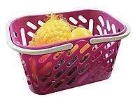 Корзинка с фруктами (розовая), KW-04-453