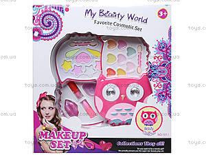 Детская косметика «Сова», раскладная, H1101I, игрушки