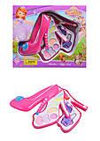 Косметика игрушечная в форме туфельки, 3 яруса, V79666H3, Украина